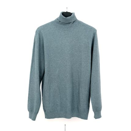 SCENERITY Sweaters Pullovers Long Sleeves Plain Sweaters 4