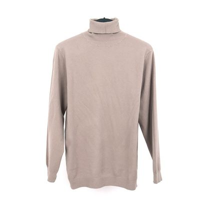 SCENERITY Sweaters Pullovers Long Sleeves Plain Sweaters 13