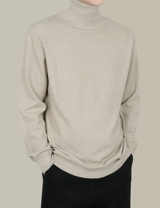 SCENERITY Sweaters Pullovers Long Sleeves Plain Sweaters 10