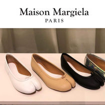 Maison Martin Margiela Plain Leather Flats