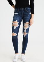 American Eagle Outfitters Denim Street Style Long Jeans
