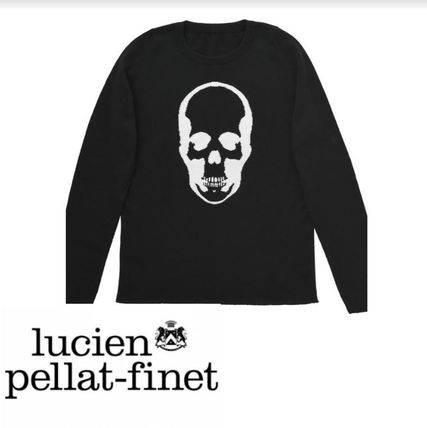 Pullovers Skull Long Sleeves Knits & Sweaters