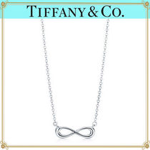 Tiffany & Co TIFFANY INFINITY Silver Elegant Style Necklaces & Pendants