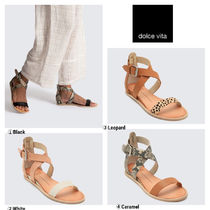 dolce vita Casual Style Other Animal Patterns Leather Sandals Sandal