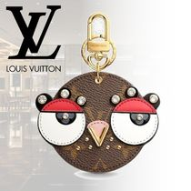 Louis Vuitton MONOGRAM Monogram Unisex Other Animal Patterns Leather With Jewels