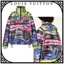 Louis Vuitton Short Unisex Street Style With Jewels Jackets