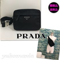 PRADA Nylon Messenger & Shoulder Bags