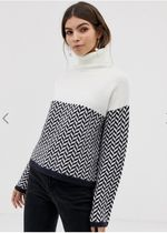 ASOS Cable Knit Casual Style Long Sleeves Medium Knitwear