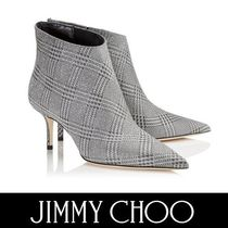 Jimmy Choo Plain Pin Heels Elegant Style Ankle & Booties Boots
