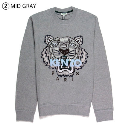KENZO Sweatshirts Crew Neck Sweat Long Sleeves Sweatshirts 4