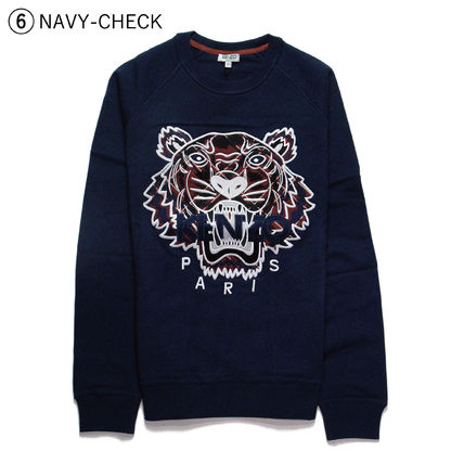 KENZO Sweatshirts Crew Neck Sweat Long Sleeves Sweatshirts 12