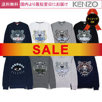 KENZO Crew Neck Sweat Long Sleeves Sweatshirts