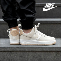 Nike AIR FORCE 1 Casual Style Unisex Street Style Oversized Low-Top Sneakers