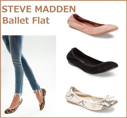 dafb96f0f48 ... Steve Madden More Flats Leopard Patterns Round Toe Casual Style Faux  Fur ...