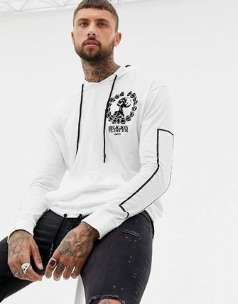 Religion Hoodies Street Style Long Sleeves Plain Cotton Hoodies 2