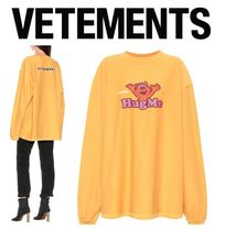 VETEMENTS Skull Casual Style Unisex Street Style Collaboration