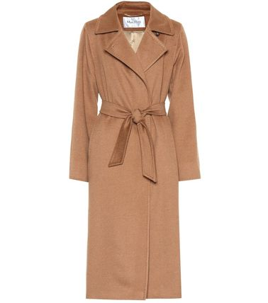Plain Long Elegant Style Coats