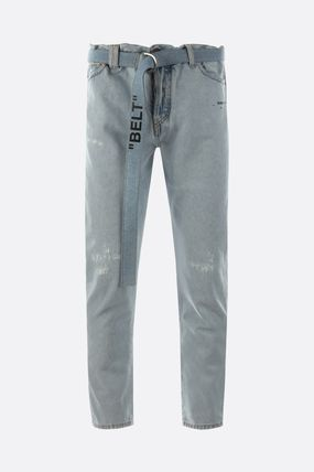 Off-White Skinny Fit Denim Street Style Skinny Fit Jeans & Denim 3