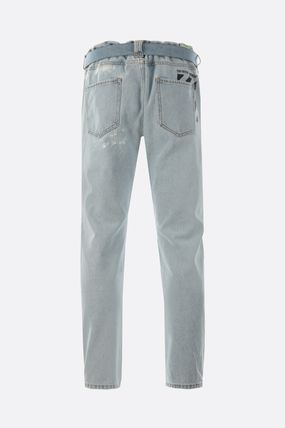 Off-White Skinny Fit Denim Street Style Skinny Fit Jeans & Denim 4