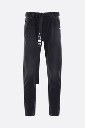 Off-White Skinny Fit Denim Street Style Skinny Fit Jeans & Denim 6