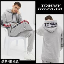 Tommy Hilfiger Long Sleeves Cotton Hoodies