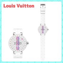Louis Vuitton Casual Style Unisex Street Style Round Digital Watches