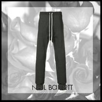NeIL Barrett Street Style Plain Cotton Sarouel Pants
