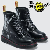 Dr Martens 1460 Lace-up Casual Style Unisex Street Style Leather