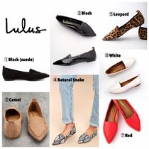 Lulu's Leopard Patterns Square Toe Casual Style Flats