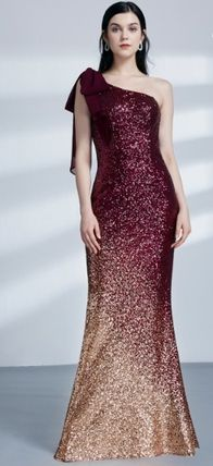 Tight Sleeveless Long Bold Glitter Dresses