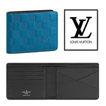 Louis Vuitton Other Check Patterns Folding Wallets