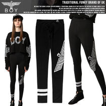 BOY LONDON Studded Street Style Leggings Pants