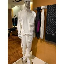 Louis Vuitton Blended Fabrics Street Style Plain Cotton Cropped Pants