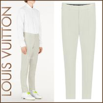 Louis Vuitton Blended Fabrics Street Style Plain Cotton Pants