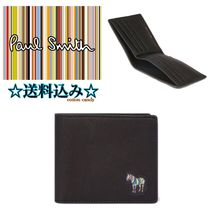 Paul Smith Plain Other Animal Patterns Leather Folding Wallets