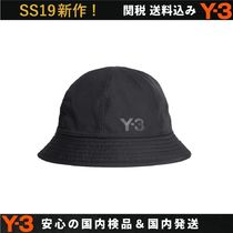 Y-3 Street Style Bucket Hats Wide-brimmed Hats