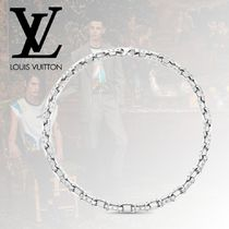 Louis Vuitton Monogram Silver Necklaces & Chokers