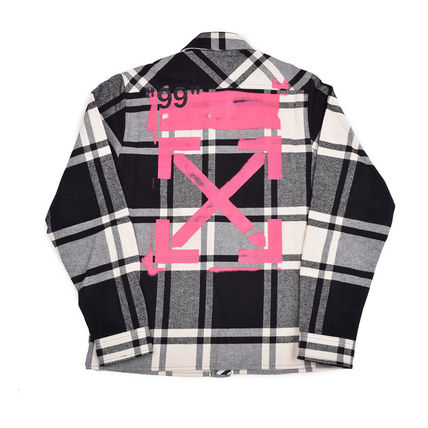 Off-White Shirts Street Style Long Sleeves Shirts