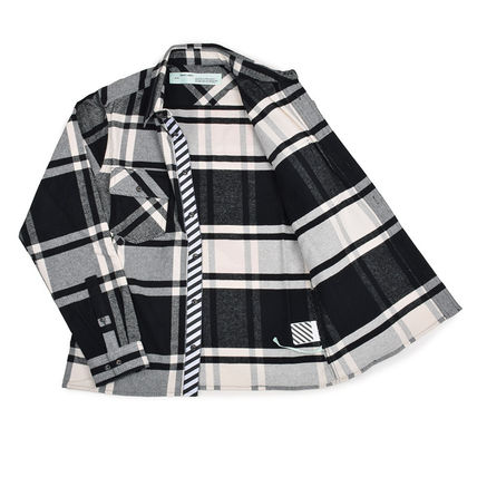 Off-White Shirts Street Style Long Sleeves Shirts 3