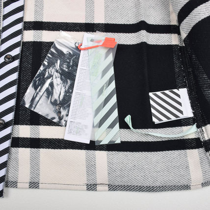 Off-White Shirts Street Style Long Sleeves Shirts 4