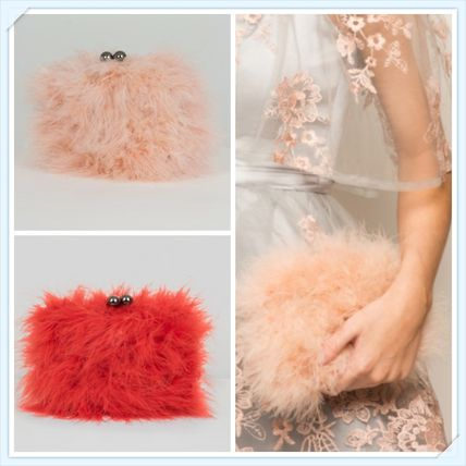 Faux Fur 2WAY Party Style Clutches
