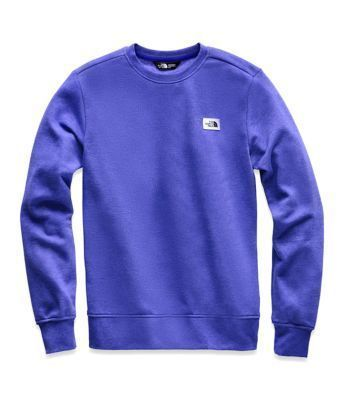 THE NORTH FACE Long Sleeve Crew Neck Pullovers Street Style Long Sleeves Plain Cotton 3
