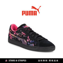 PUMA SUEDE Tropical Patterns Suede Street Style Sneakers