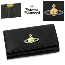 Vivienne Westwood Plain Leather Keychains & Holders