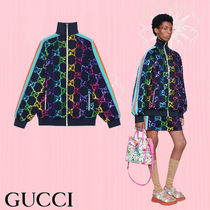 GUCCI Casual Style Street Style Medium Jackets
