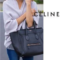 CELINE Luggage Calfskin Handbags