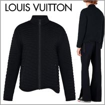 Louis Vuitton Blended Fabrics Street Style Plain Jackets