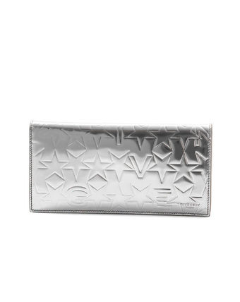 Star Calfskin Long Wallets