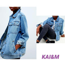 ASOS Casual Style Denim Plain Jackets