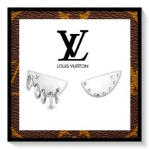 Louis Vuitton Silver Elegant Style Earrings & Piercings